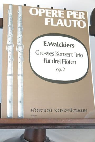 Walckiers E - Grand Trio Concertante Op 2 for 3 Flutes